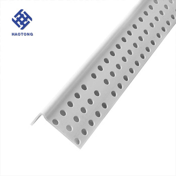 Factory price supply PVC corner bead for building white hot sale plaster corner bead