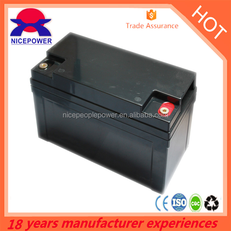 Canton Fair 12v50ah Maintenance Free and high quality sealed lead acid battery for UPS solar system