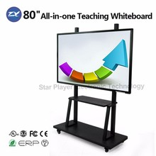 Star Player 80 inch no projector interactive whiteboard smart TV