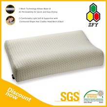 Fashion Customized Memory Foam Sleeping Tube Pillow