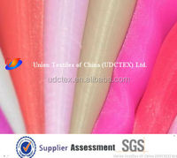 cheap Wholesale 100% Polyester silk organza fabric
