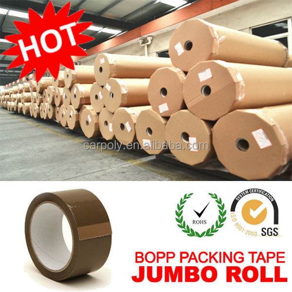 HOT Selling !!! CARPOLY High Performance BOPP Tape Jumbo Roll (Multi Colors)