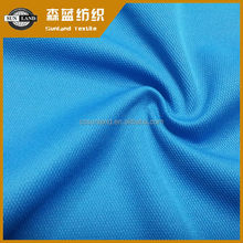 moisture wicking finished 100% polyester pique sportswear fabric
