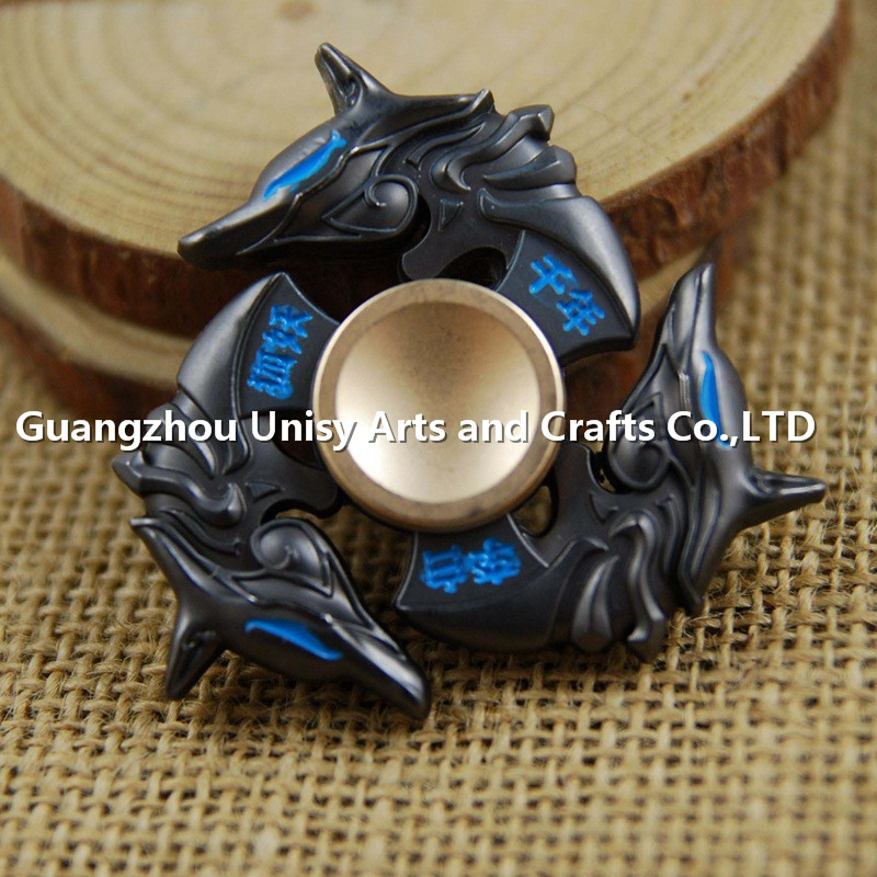 Alibaba china supplier Ultra Fast Bearings Finger Batman fidget spinner fidget toy bat hand spinner