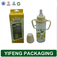 Packaging for baby feeding bottle nursing bottle packaging box