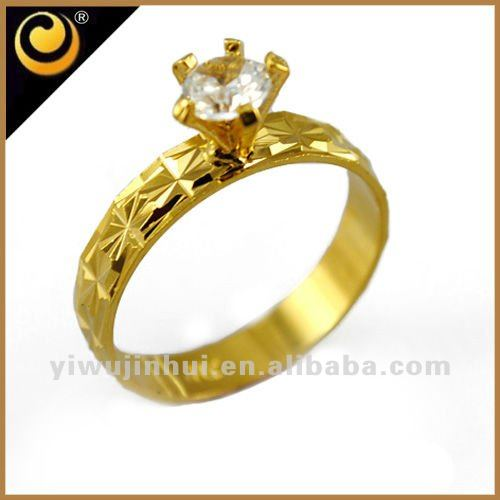 18 k gold plated gothic engagement jewelry rings rings for women fashion design