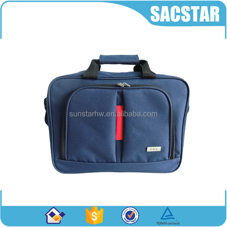 Custom color 1680D business shoulder bag laptop briefcase