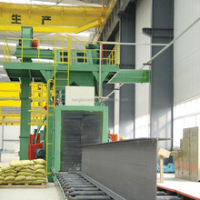 Roller Conveyor Shot Blast Cleaning Machine/Equipment for H Beam and Steel Plate