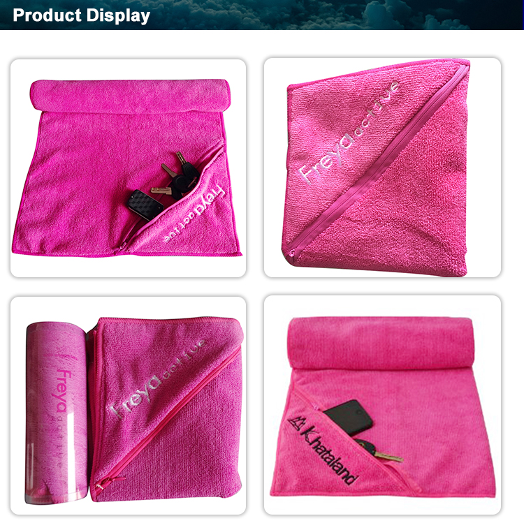 Hot Sale Custom Printed Rally Cotton Fitness Sport Golf Gym Towel
