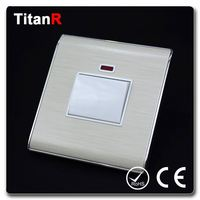 China manufacture of colored light switches and outlets
