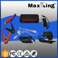 car jump starter 18000mah, black&red, small, charge for mobile phone, 12V 400-700A