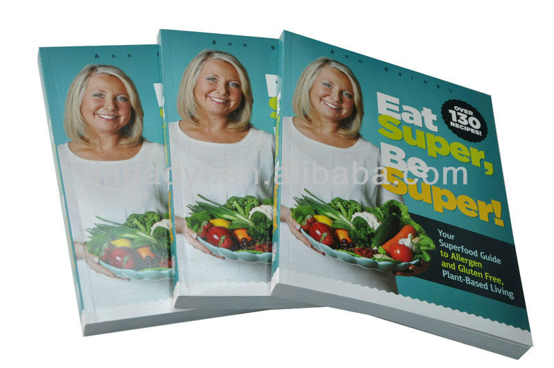 full color high quality cook book printing