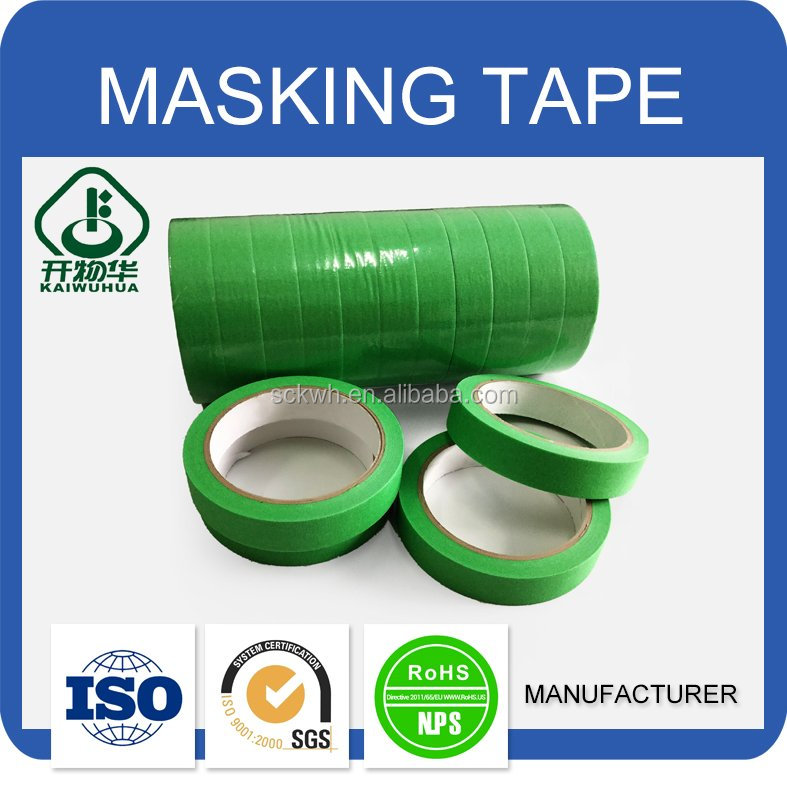 China supplier free samples good adhesive masking tape for car painting