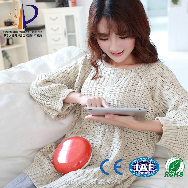 Same funtion as hot water bottle most safe ceramic disc hand warmer