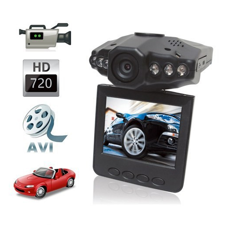 High quality 720p car dvr Night Mode Vehicle Dashcam