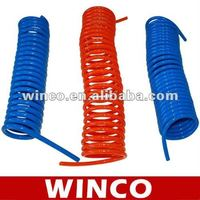 Long Lifespan Spiral Pu Tube Coil Pu Tube