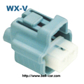male and female electrical connectors plastic waterproof 2 pin PE165422