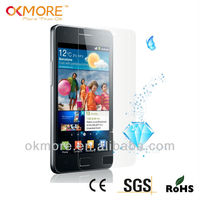 HOT sell diamond screen protector for samsung galaxy s2 i9100,shining silver diamond