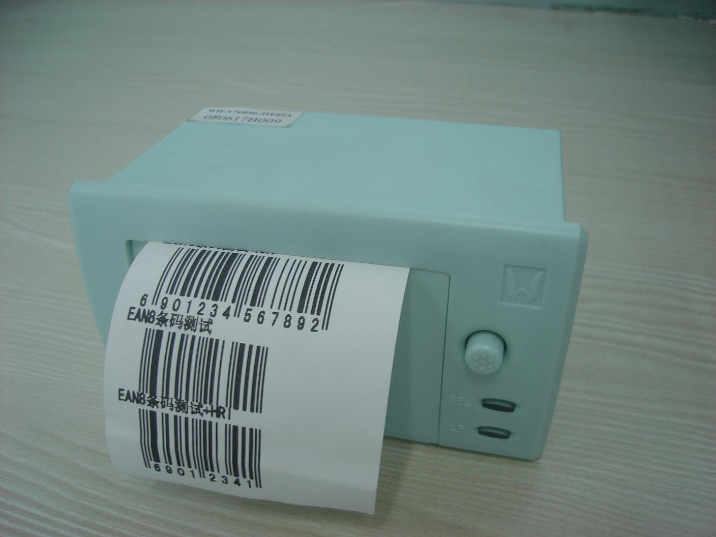 2012 alibaba express hot selling (WH-A7) Mini barcode printer; thermal printer