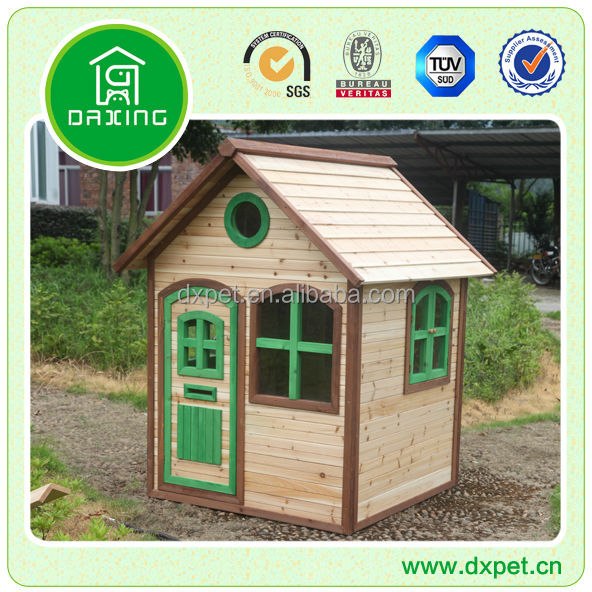 Wooden Kids Play House DXGH018