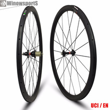 Hot selling toray t700 cheap 38mm depth carbon fiber 25mm width clincher wheels