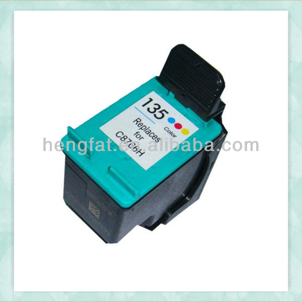 remanufactured ink cartridge Compatible inkjet Cartridge for hp135(C8766H)