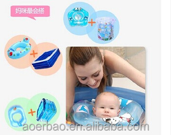PVC inflatable baby swimming neck ring