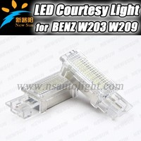 LED Door Courtesy Light Interior light Bulb for Mercedes Benz W203 W207 W209 C CLK SLK SLR Viano Maybach 18SMD Error free