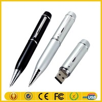 Hot new products for 2015 popular usb flash drive laser pointer ball pen with life warranty