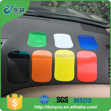 Dashboard decorations fixate gel non slip cell phone pad