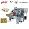 Continuous Automatic Fast Food Tray Sealing