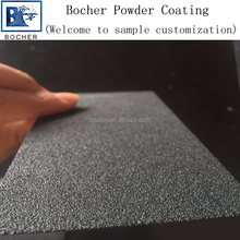 Free sample Black rough sand powder coating for movie