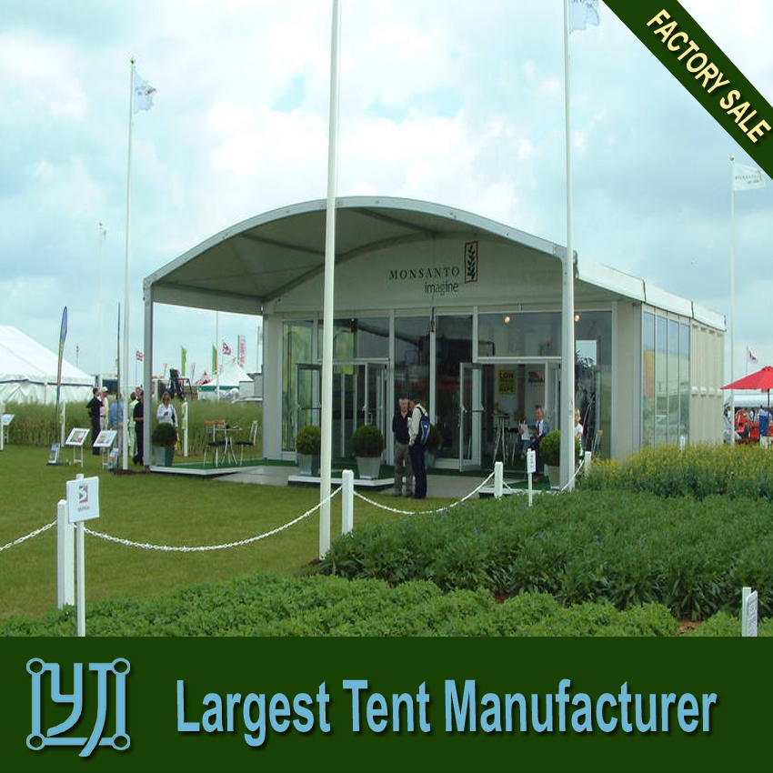 Hotsale ARC maruqee tent with glass wall for wedding party tent
