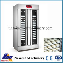 Best quality dough proofer room/32 trays double door pizza dough proofer/electric baking machine