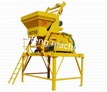 JS750 self loading small home mobile concrete mixer