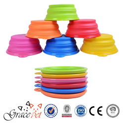 Private Label Travel Collapsible Dog Bowl