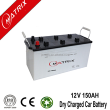 Best Plate dry cell rechargeable battery N150 12v 150ah TRUCK BATTERIES