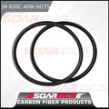 30mm depth 40mm width 650b carbon rims for carbon mountain bike