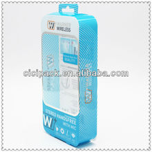 New design custom pvc mobile phone charger USB packaging box