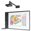 Multi-media All-in-one Interactive Digital Teaching Device with Display Whiteboard, PC, Speaker, Document Camera, Microphone