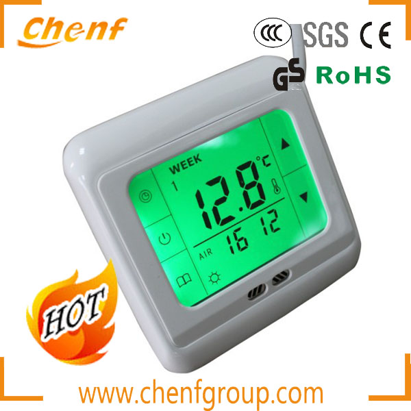 Newest Design Floor Heating 220V Room Thermostat Programmable with LCD Display