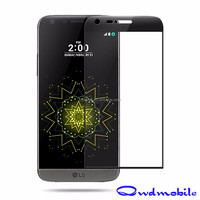 New Arrival Anti-Shock 0.26mm 9H 3D Curved Tempered Glass Screen Protector For Lg G5