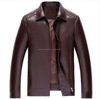 2015 Mens fashion urban leather jacket