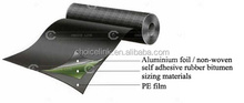 rubber roofing material self-adhesive waterproofing membrane