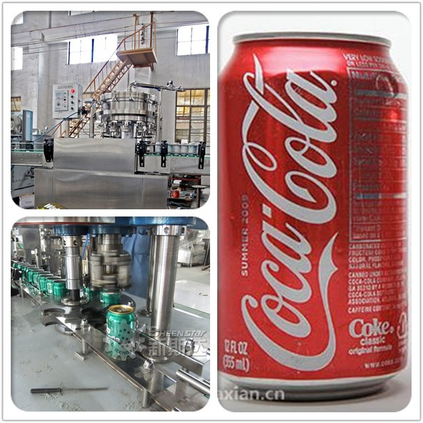 2015 SHEENSTAR Manufacture Aluminum Can Filling Line