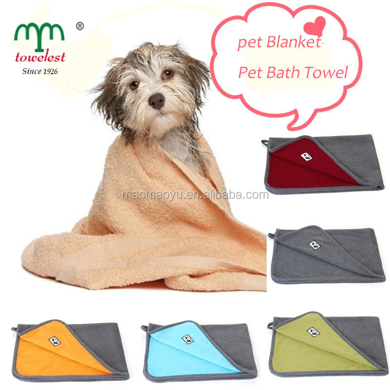 China supplier cheapest Pet bad Bamboo fiber thick Pet Blanket