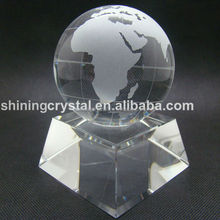 crystal globe desk set for Souvenirs