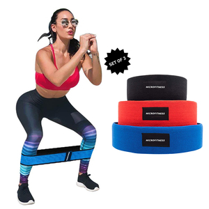 Premium Resistance Hip Fabric band for Squat Booty Activation
