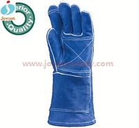 yellow welding glove reinforced cryogenic gloves