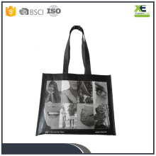 Brand New Custom Logo Printed Non Woven Laminated Shopping Tote Bag